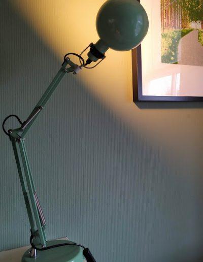 Verlichting, bureaulamp, directe verlichting, groene lamp, TINT Styling
